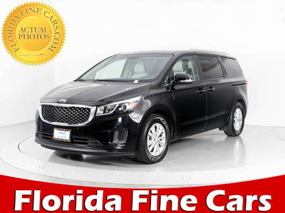 Used KIA SEDONA 2017 WEST PALM Lx