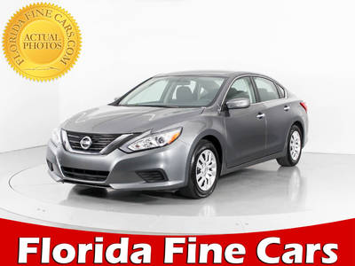Used NISSAN ALTIMA 2017 WEST PALM S