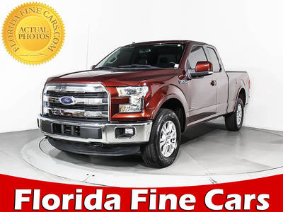 Used FORD F-150 2015 WEST PALM Lariat Fx4