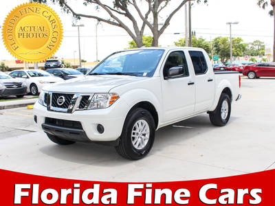 Used NISSAN FRONTIER 2018 WEST PALM Sv