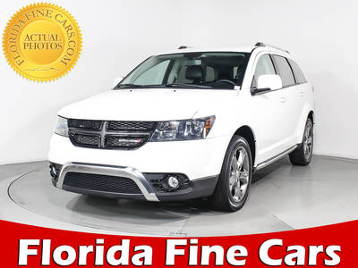 Used DODGE JOURNEY 2017 WEST PALM Crossroad Plus
