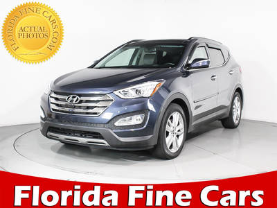 Used HYUNDAI SANTA-FE-SPORT 2014 MIAMI Technology Pkg Awd