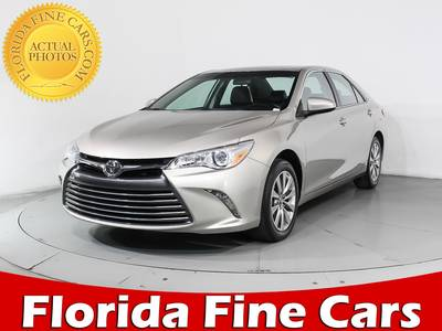 Used TOYOTA CAMRY 2017 MIAMI Xle