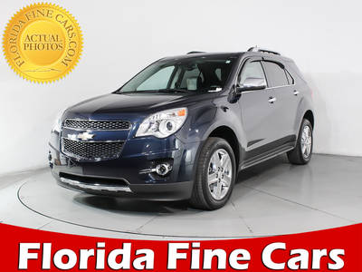 Used CHEVROLET EQUINOX 2015 MIAMI LTZ