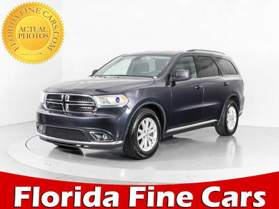 Used DODGE DURANGO 2014 WEST PALM Sxt