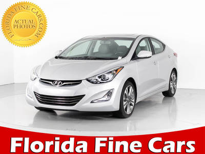 Used HYUNDAI ELANTRA 2015 WEST PALM Sport