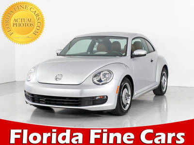 Used VOLKSWAGEN BEETLE 2015 WEST PALM 1.8t Classic
