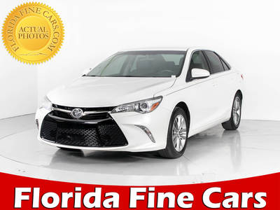 Used TOYOTA CAMRY 2015 WEST PALM Se