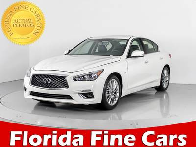 Used INFINITI Q50 2018 WEST PALM Luxe