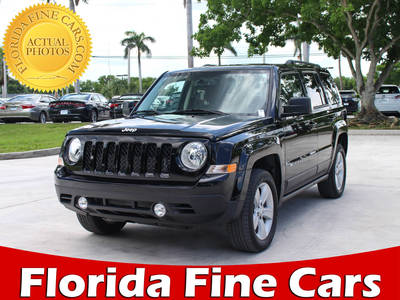 Used JEEP PATRIOT 2017 MARGATE Latitude 4x4