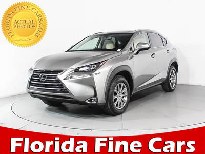 Used LEXUS NX-200T 2015 WEST PALM