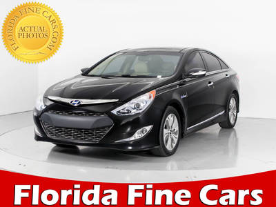 Used HYUNDAI SONATA-HYBRID 2015 WEST PALM Limited