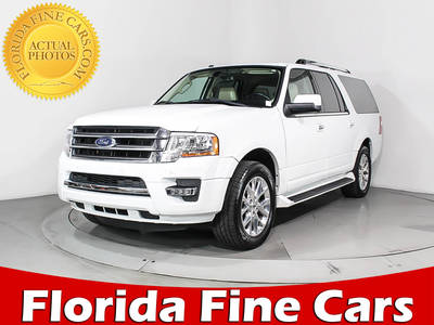 Used FORD EXPEDITION-EL 2017 MIAMI LIMITED