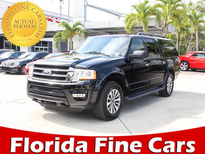 Used FORD EXPEDITION-EL 2017 WEST PALM Xlt Awd