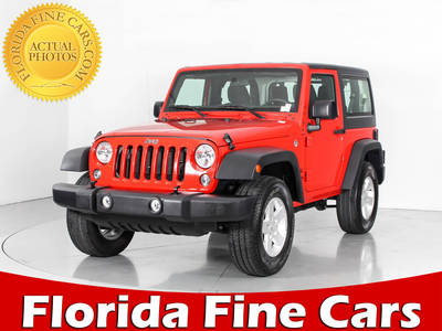 Used JEEP WRANGLER 2017 WEST PALM SPORT
