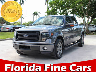 Used FORD F-150 2014 WEST PALM Fx-2