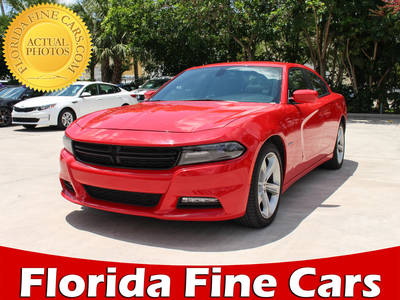 Used DODGE CHARGER 2017 MARGATE R/t