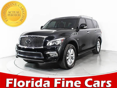 Used INFINITI QX80 2016 WEST PALM