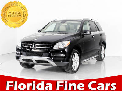 Used MERCEDES-BENZ M-CLASS 2013 WEST PALM ML350 4MATIC