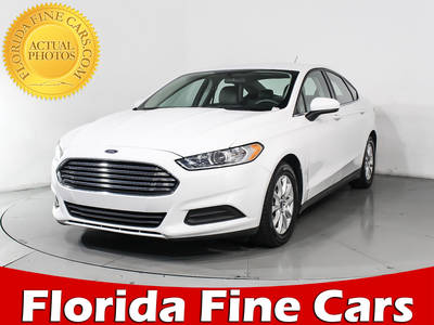 Used FORD FUSION 2016 WEST PALM S