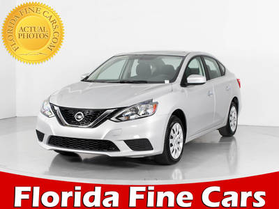Used NISSAN SENTRA 2017 WEST PALM S