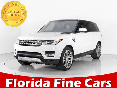 Used LAND-ROVER RANGE-ROVER-SPORT 2016 WEST PALM Hse Supercharged