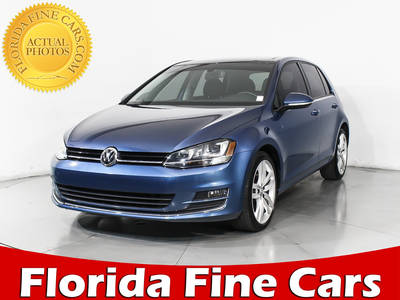 Used VOLKSWAGEN GOLF 2015 MIAMI Tdi Sel