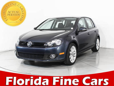 Used VOLKSWAGEN GOLF 2012 MIAMI Tdi S