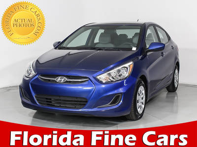 Used HYUNDAI ACCENT 2017 MIAMI SE