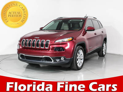 Used JEEP CHEROKEE 2016 HOLLYWOOD LIMITED