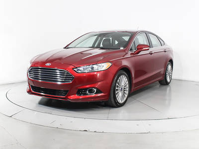 Used FORD FUSION 2015 MARGATE TITANIUM