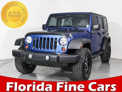 Used JEEP WRANGLER-UNLIMITED 2010 MIAMI SPORT