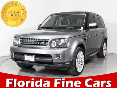 Used LAND-ROVER RANGE-ROVER-SPORT 2011 MIAMI HSE LUX