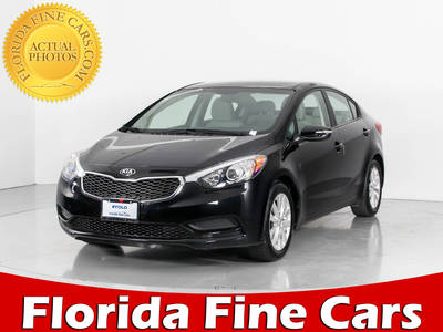 Used KIA FORTE 2015 WEST PALM Lx