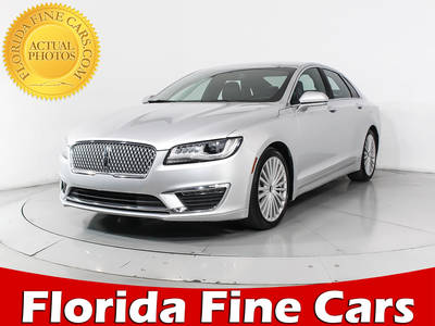 Used LINCOLN MKZ 2017 HOLLYWOOD RESERVE
