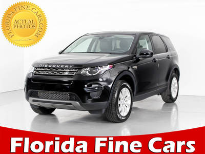 Used LAND-ROVER DISCOVERY-SPORT 2017 WEST PALM Se Awd