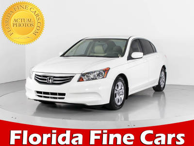 Used HONDA ACCORD 2012 WEST PALM SE