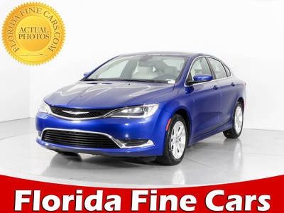 Used CHRYSLER 200 2017 WEST PALM LIMITED