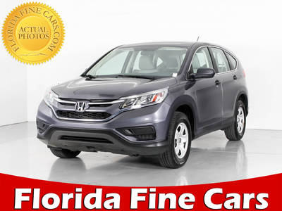 Used HONDA CR-V 2015 WEST PALM LX
