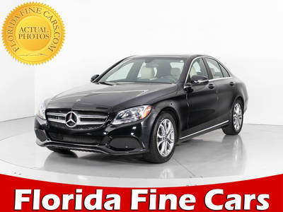 Used MERCEDES-BENZ C-CLASS 2018 HOLLYWOOD C300