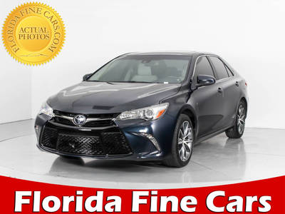 Used TOYOTA CAMRY 2015 WEST PALM XSE