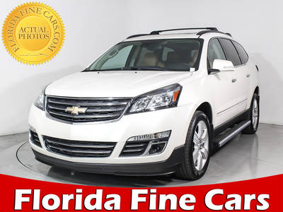 Used CHEVROLET TRAVERSE 2014 HOLLYWOOD LTZ