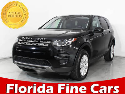Used LAND-ROVER DISCOVERY-SPORT 2017 MIAMI SE
