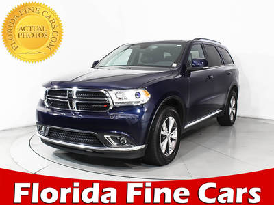 Used DODGE DURANGO 2016 MIAMI LIMITED