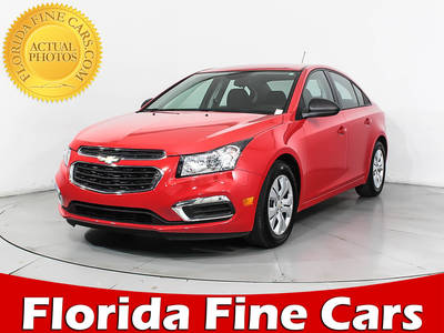 Used CHEVROLET Cruze 2016 HOLLYWOOD Limited Ls