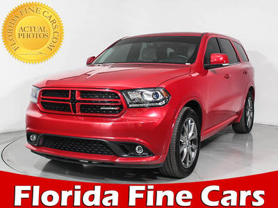 Used DODGE DURANGO 2017 HOLLYWOOD LIMITED
