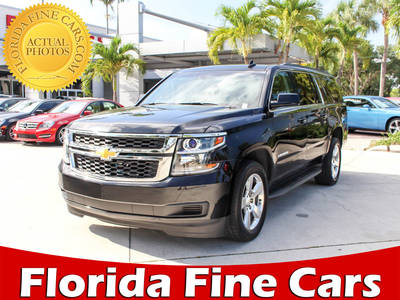 Used CHEVROLET SUBURBAN 2016 WEST PALM LT