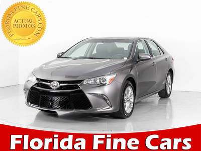 Used TOYOTA CAMRY 2017 WEST PALM Se