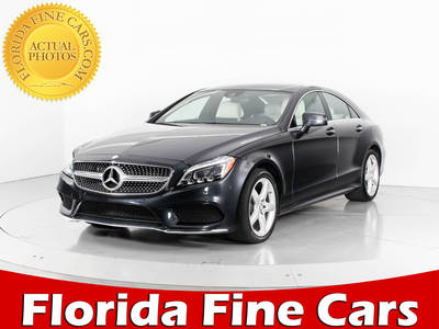 Used MERCEDES-BENZ CLS-CLASS 2015 WEST PALM CLS400 4MATIC