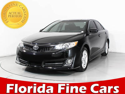 Used TOYOTA CAMRY 2014 MIAMI Se